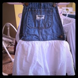 Carters overall dress. Never worn.